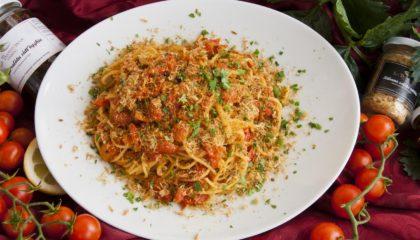 """Spaghetti """"cu ritunnu rattatu"""""""