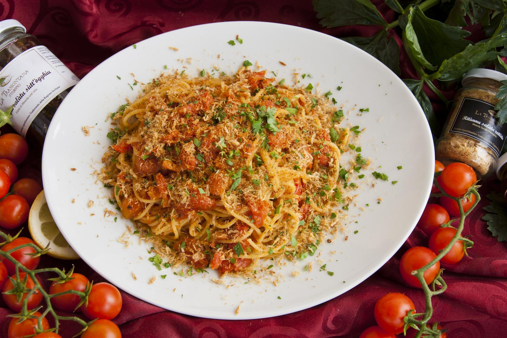 Spaghetti cu Ritùnnu rattàtu