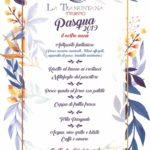 Menu' di Pasqua 2019