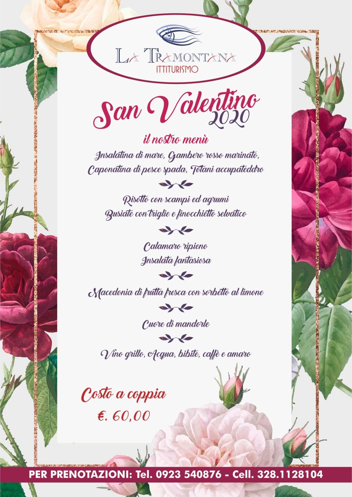 Read more about the article Menu' di San Valentino